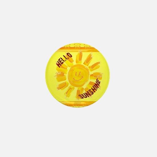 hello sunshine Mini Button