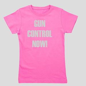 Gun Control Now Girl's Tee