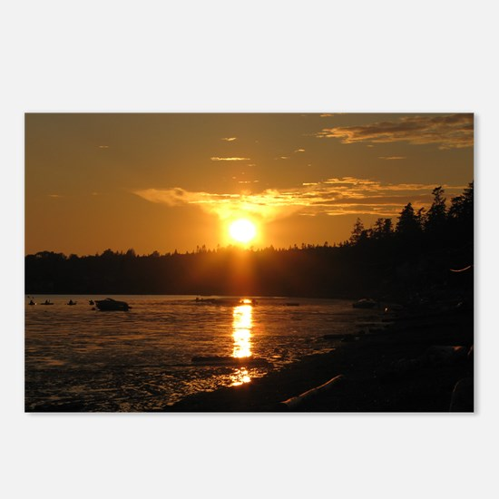 Birch Bay Sunset Postcards (Package of 8)