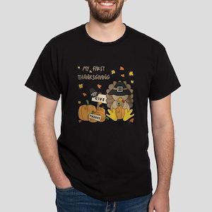 MY FIRST THANKSGIVING Dark T-Shirt