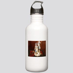 Art Deco Woman Stainless Water Bottle 1.0L