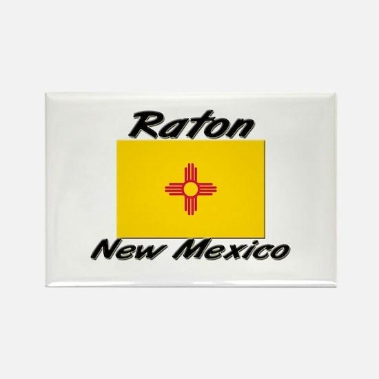 Raton New Mexico Rectangle Magnet