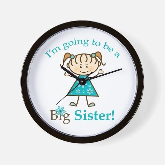 Big Sister to be Wall Clock