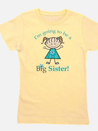 Big Sister to be Girl's Tee