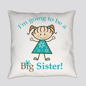 Big Sister to be Everyday Pillow