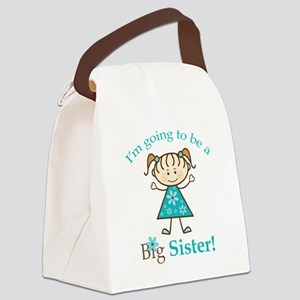 Big Sister to be Canvas Lunch Bag