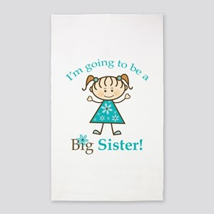 Big Sister to be Area Rug