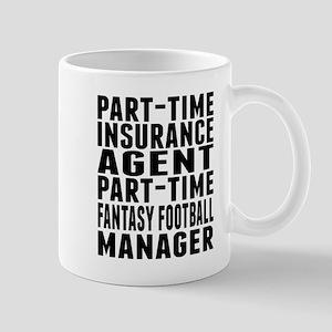 Fantasy Football Insurance Agent Mugs