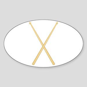Drum Sticks Sticker