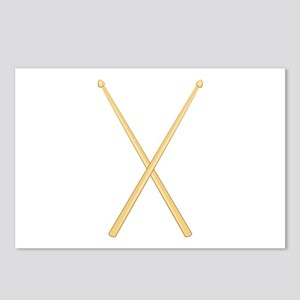 Drum Sticks Postcards (Package of 8)