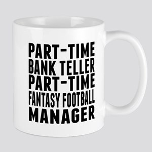 Fantasy Football Bank Teller Mugs