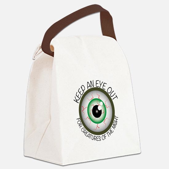 Keep Eye Out Canvas Lunch Bag
