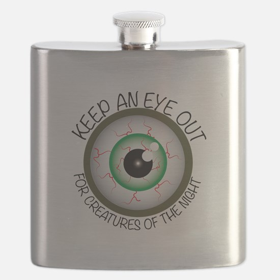 Keep Eye Out Flask