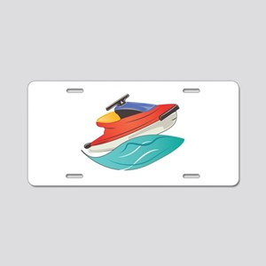 Jet Ski Aluminum License Plate