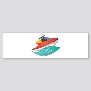 Jet Ski Bumper Sticker