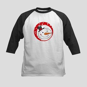 Let It Snow 4 Kids Baseball Tee