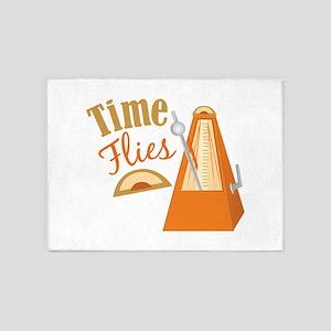 Time Flies 5'x7'Area Rug