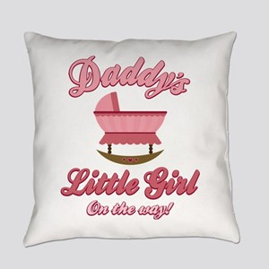 Daddy's Girl Everyday Pillow