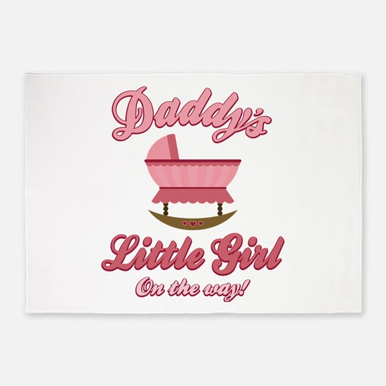 Daddy's Girl 5'x7'Area Rug
