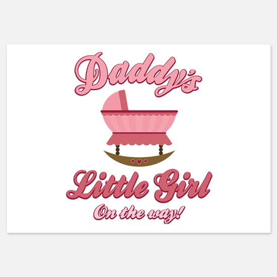 Daddy's Girl 5x7 Flat Cards