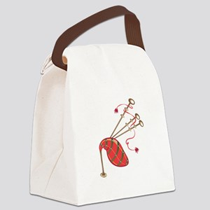 Bagpipe Canvas Lunch Bag