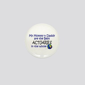 Best Actuaries In The World Mini Button
