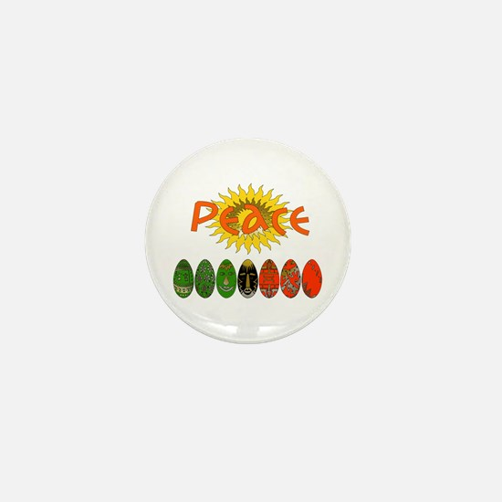 Kwanzaa Peace Gifts Mini Button