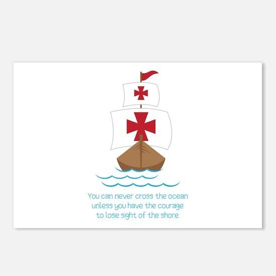 Cross The Ocean Postcards (Package of 8)