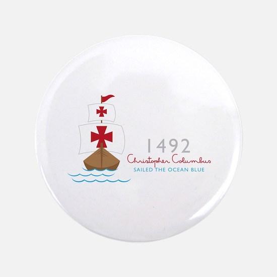 Christopher Columbus Button