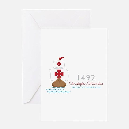 Christopher Columbus Greeting Cards