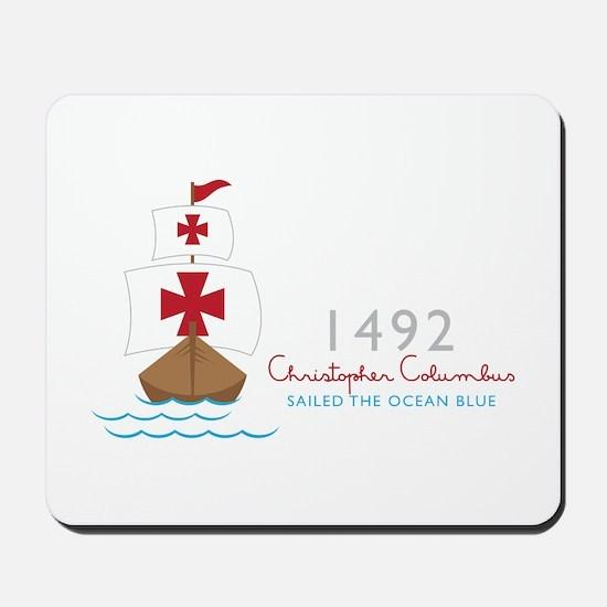 Christopher Columbus Mousepad