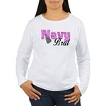 Navy Brat Women's Long Sleeve T-Shirt