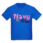 Navy Brat Kids Dark T-Shirt
