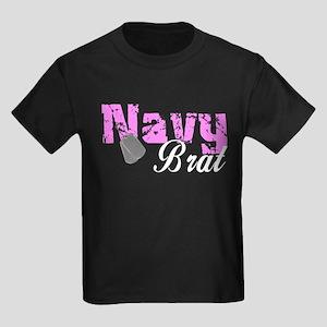 Navy Brat Kids Dark T-Shirt