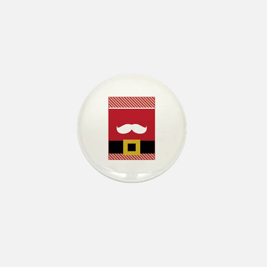 Santa Claus Mini Button