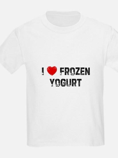 I * Frozen Yogurt T-Shirt