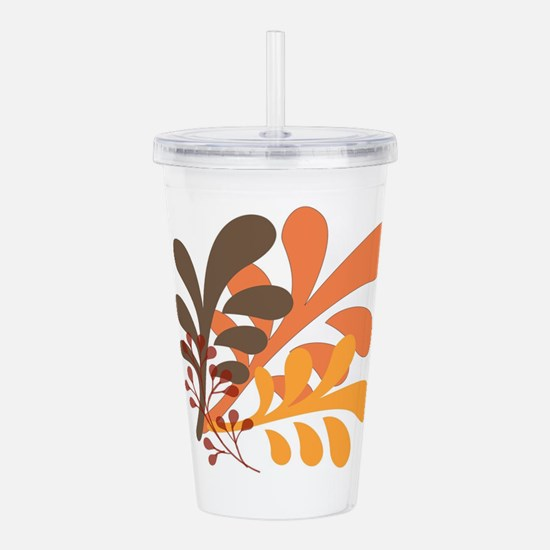 friendly Autumn Acrylic Double-wall Tumbler