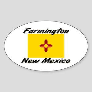Farmington New Mexico Oval Sticker