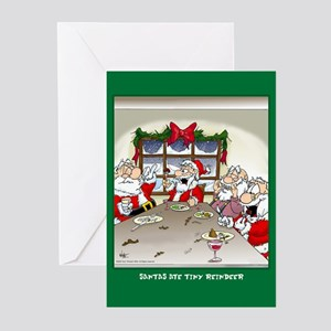 Ate Reindeer (Xmas Cards Greeting Cards 10 Pk) Gre
