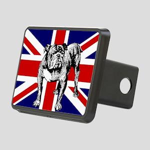 British Bulldog Flag Rectangular Hitch Cover