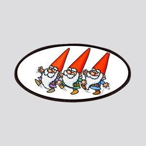 THREE GNOMES DANCING Patch