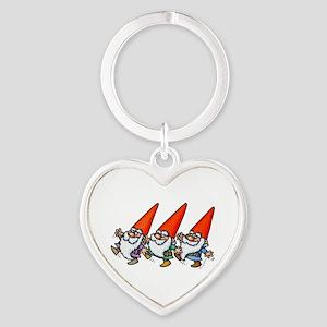 THREE GNOMES DANCING Keychains