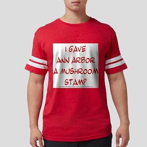 I gave Ann Arbor a Mushroom Stamp T-Shirt