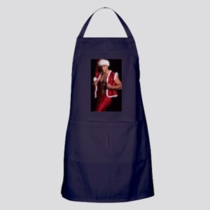 Hot Santa Claus 1 Apron (dark)
