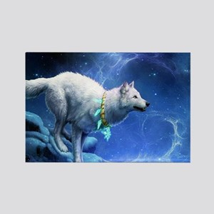 Fantasy Wolf Magnets