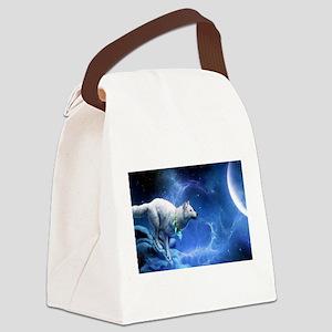 Fantasy Wolf Canvas Lunch Bag