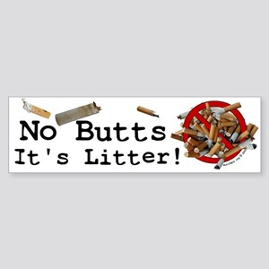 ButtUgly! Bumper Sticker