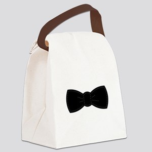 Bow Tie Canvas Lunch Bag