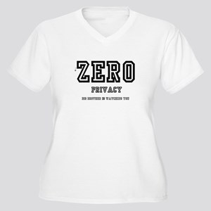 ZERO PRIVACY - BIG BROTHER IS WA Plus Size T-Shirt