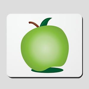 Green apple! Mousepad
